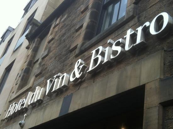 Hotel du Vin & Bistro:                   Main Enterance