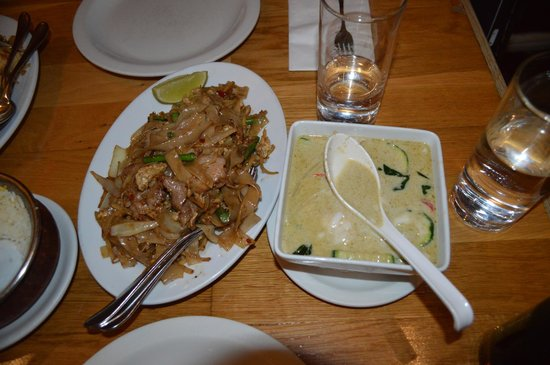Pimlico Thai : Thai Green Curry and Fried Rice