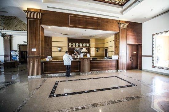 Stella Di Mare Beach Resort & Spa Makadi Bay:                   Reception