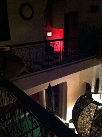 Riad Nejma Lounge:                                     Ambiance feutré au Riad