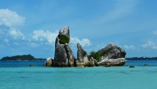 Belitung Island, Indonesia: View from 'Pulau Burung'