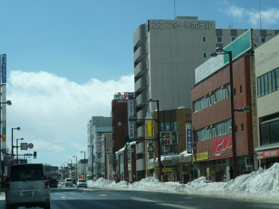 Comfort Hotel Kitami :                                     ホテル遠景