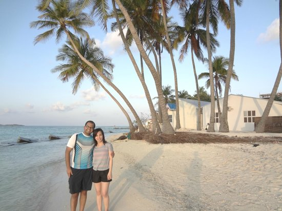 Stingray Beach Inn:                   Maafushi Beach