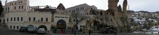 Goreme Kaya Hotel:                   ホテルの全景