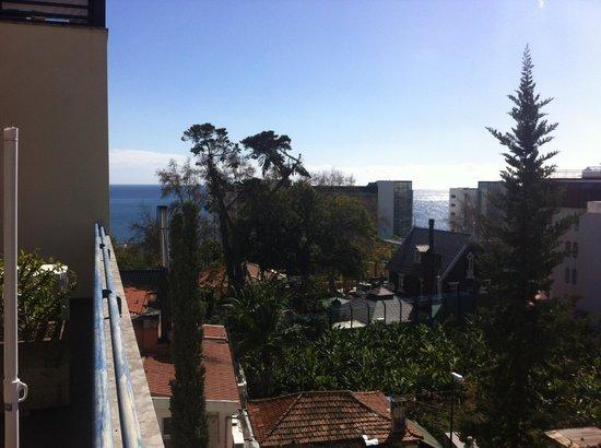 Terrace Mar Suite Hotel:                                     Vue sur la mer du 4e