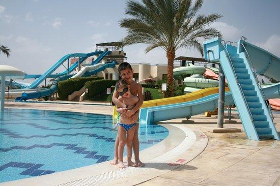Jaz Dar El Madina:                   Acqua park a due passi dall'Hotel