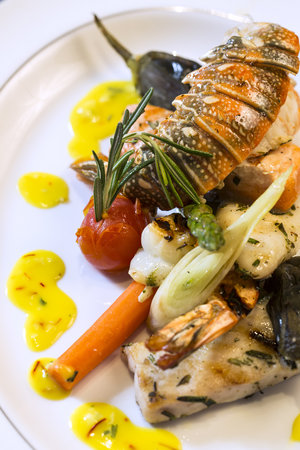 ROSSO: Grilled Seafood