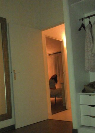 Le Club Mougins:                   My sister in her room from my room