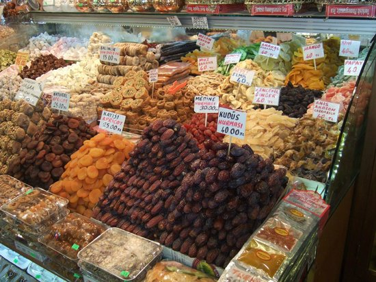 Egyptian Bazaar: Dried fruits