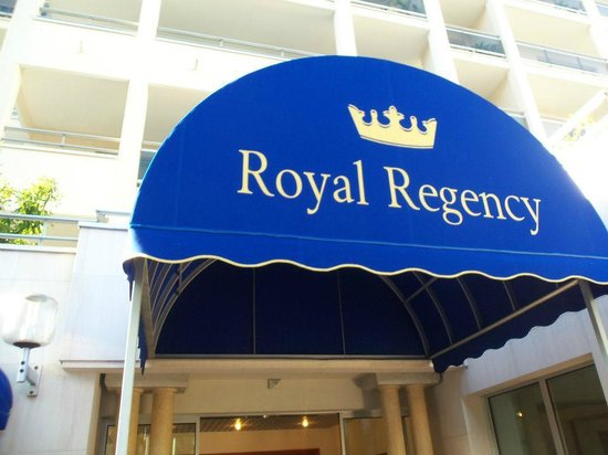 Royal Regency:                   hotel
