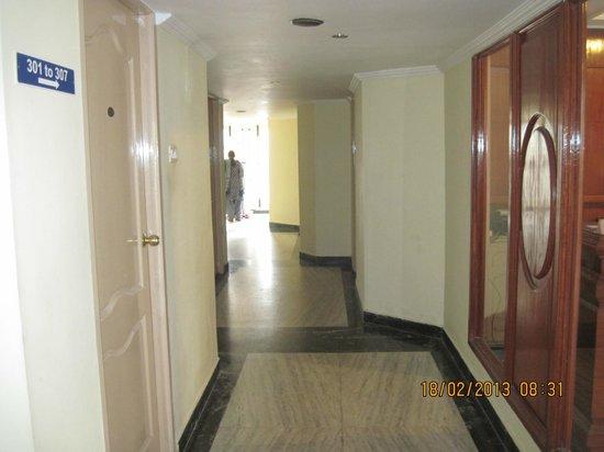 Hotel SV International : Corridor.