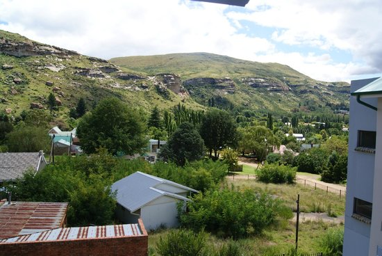 Protea Hotel Clarens: View from room