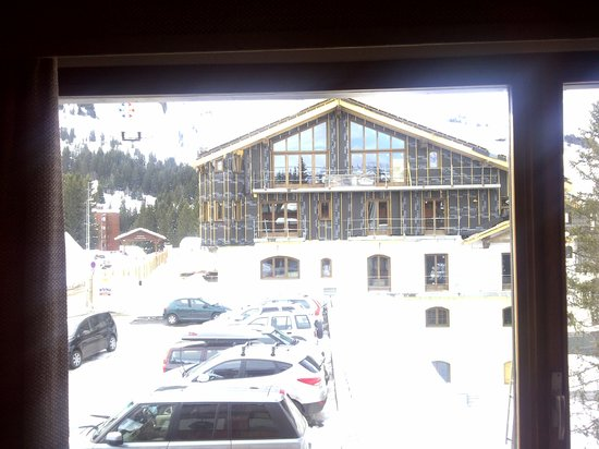 Hotel New Solarium :                   View of new hotel under construction