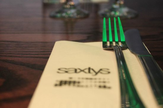 Saxtys: Contact us on 01432 357872 to book your table!