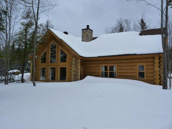 Fiddler Lake Resort:                                     Notre chalet RABBIT TRAIL