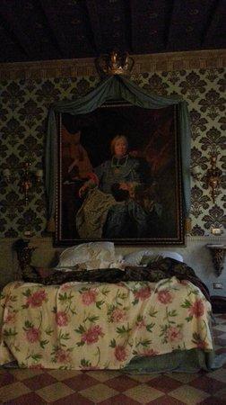 Antica Dimora de Michaelis: letto con quadro o meglio quadro con letto