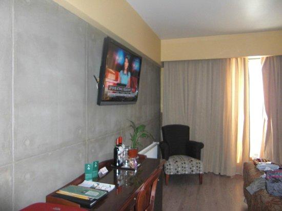 Hotel Panamericano:                   habitacion