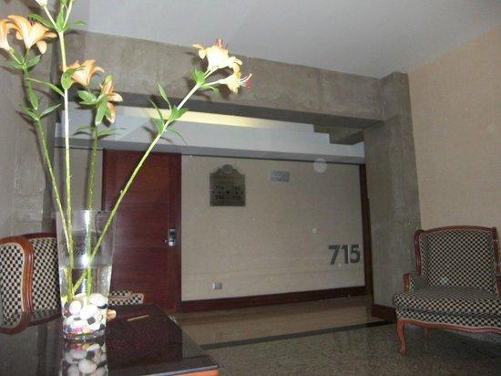 Hotel Panamericano:                   hall septimo piso
