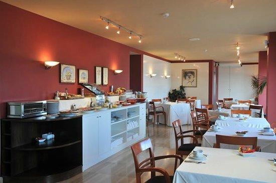 Hotel America Vigo: Salón desayunos