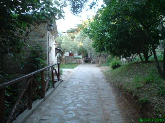 Mouresi, Greece:                   A footpath