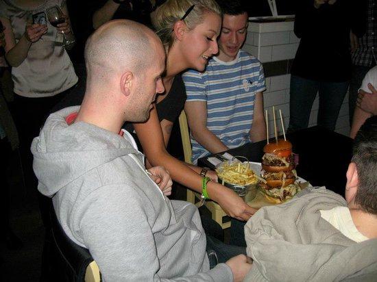 Crust:                   Burger Challenge