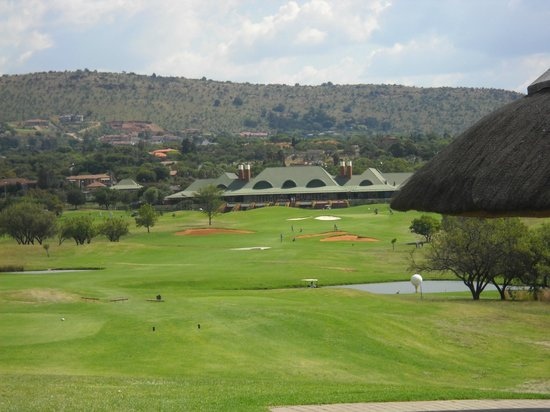 Roodepoort, Sydafrika:                                     Epic finishing hole
