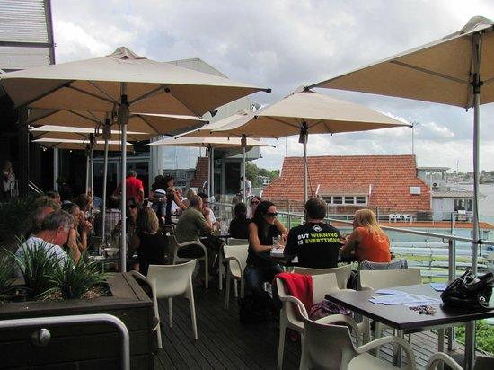 Abbotsford, Australia: Outdoor dining area