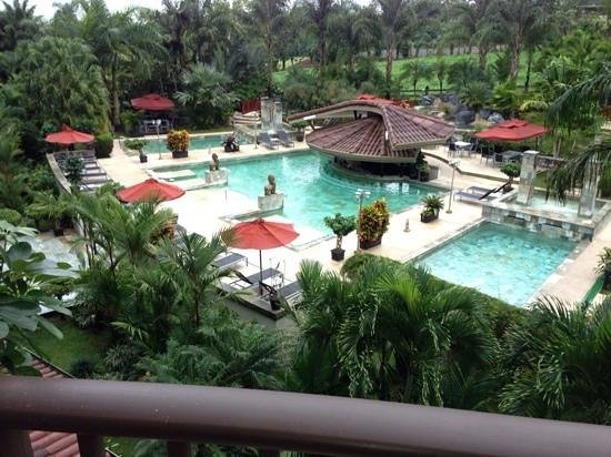 The Royal Corin Thermal Water Spa & Resort :                   view from my room at 7 am