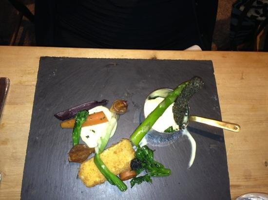 THE TREBY ARMS:                   veggie main