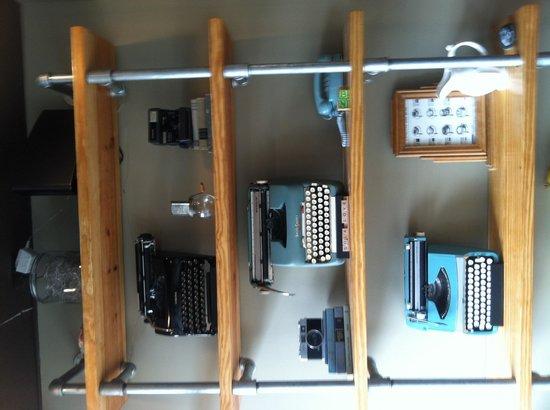 Sola Coffee Cafe : Typewriter display