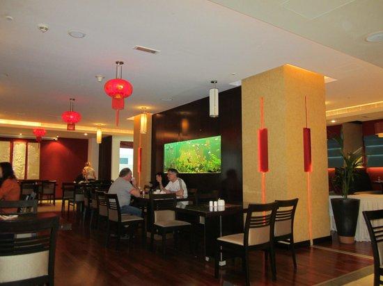 โรงแรมซิตี้แม็กซ์เบอดูไบ:                   Ресторан