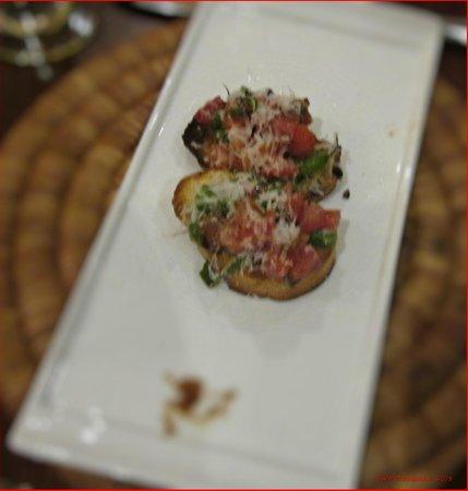 The Brasserie:                   Brunchetta Appetizer