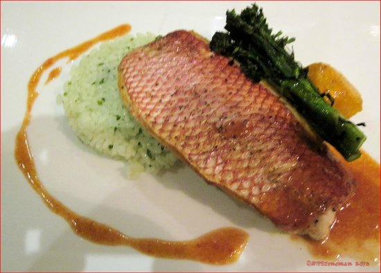 The Brasserie:                   My Surprise Lunch--Red Snapper with Rice