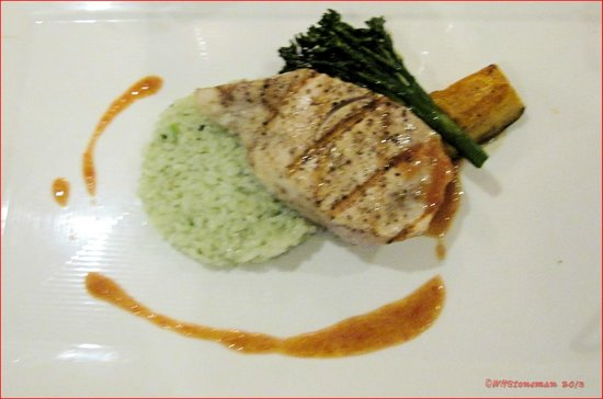 The Brasserie:                   The Daily Wahoo Special
