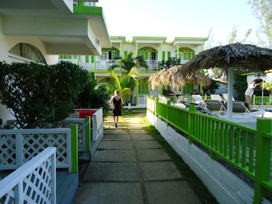 Fun Holiday Beach Resort:                                     Our friends upgraded room was to the left
