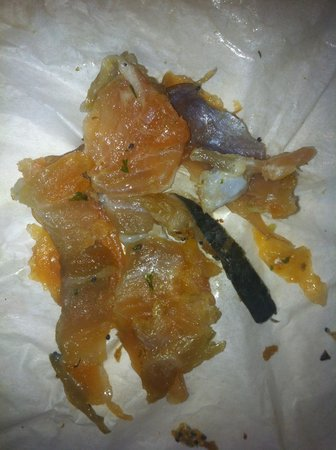 The Natural Foods Bakery:                   Pieces of Salmon
