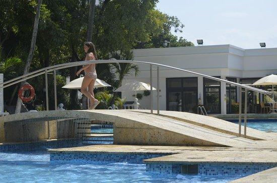 Hotel Caribe:                                     Piscina