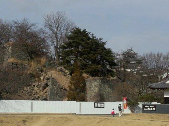 Komine Castle Remains :                   NO1