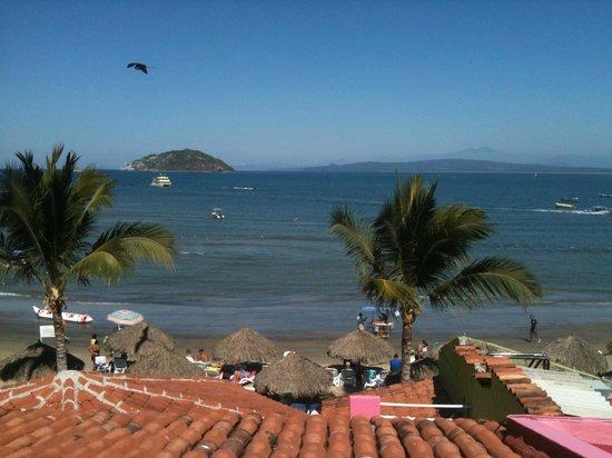 Decameron Los Cocos:                                     view from cocos 1