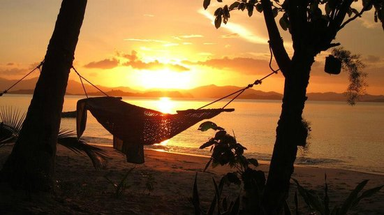Port Barton, Philippines:                                     the hammock
