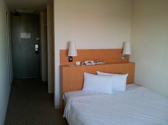Mercure Hotel Narita:                   View from room