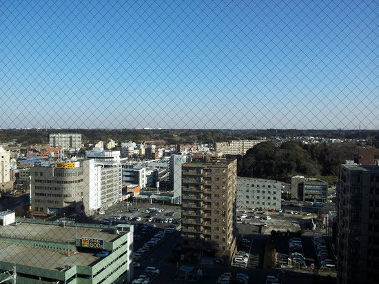 Mercure Hotel Narita:                   View from room at level 10