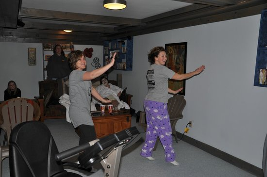 McKenzie House Bed & Breakfast:                   A little zumba on the wii