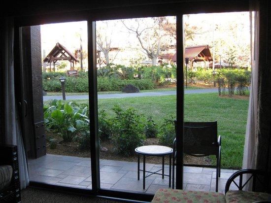 ديزنيز بولينيسيان فيليدج ريزورت:                                     Niue - 1st floor facing quiet pool                        
