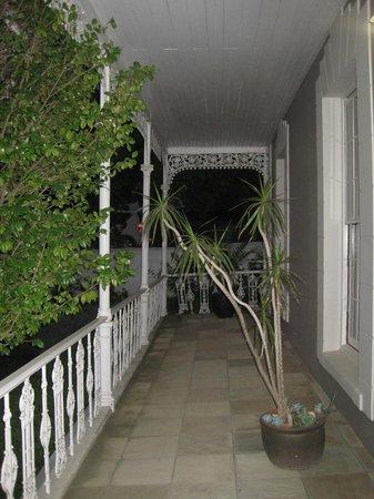 Schoone Oordt Country House:                   Balkon/ Veranda
