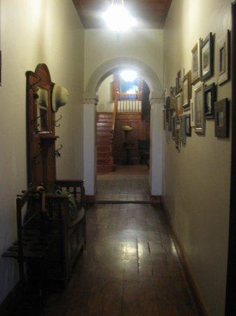 Schoone Oordt Country House:                   Eingangsbereich