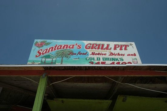 Breezy Hill Exuma Bahamas :                                     Amazing Place to stop for food and it is on Esther and Larry
