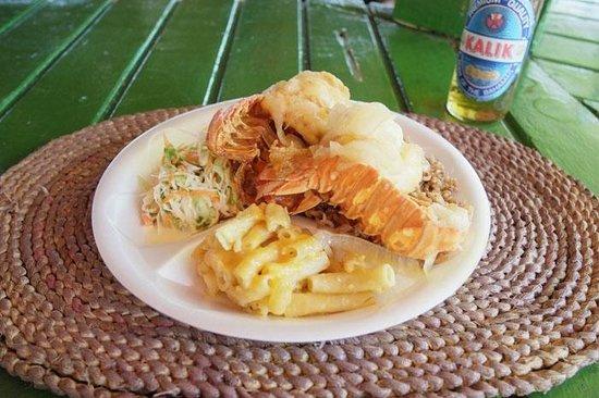 Breezy Hill Exuma Bahamas:                                     Island foods