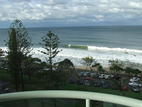 Malibu Mooloolaba Holiday Apartments:                   view from our balcony