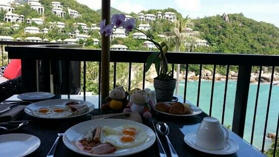 Banyan Tree Samui:                   Breakfast